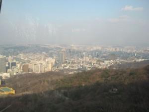 Panorama of Seoul