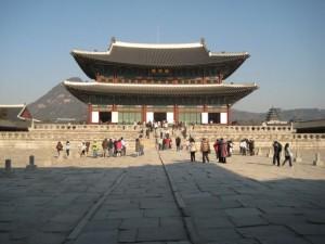 Geunjeongjeon Ilwon - imperial throne room