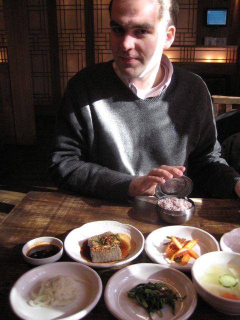 Food at 두대문집 (in Insadong)