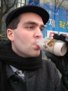 Korean soymilk - with chestnut flavor!
